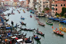 Hétvége Velencében & Regata Storica