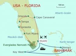 Florida - Bahamák (5 napos karibi hajókirándulással)