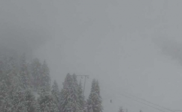 Őszi friss hó Murauban