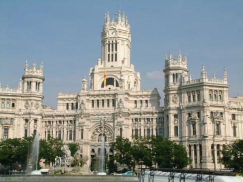 Madrid városlátogatás (Budapest - Madrid)